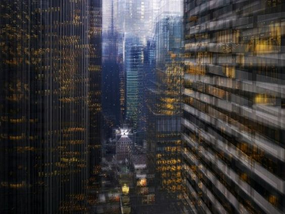Vertigo Effect Photos of New York City by Alfonso Zubiaga