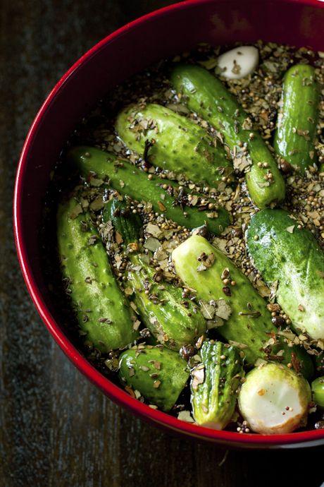 deli dill pickles.