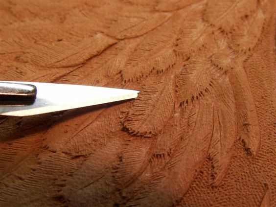 Carving a swan leather tutorials patterns pinterest