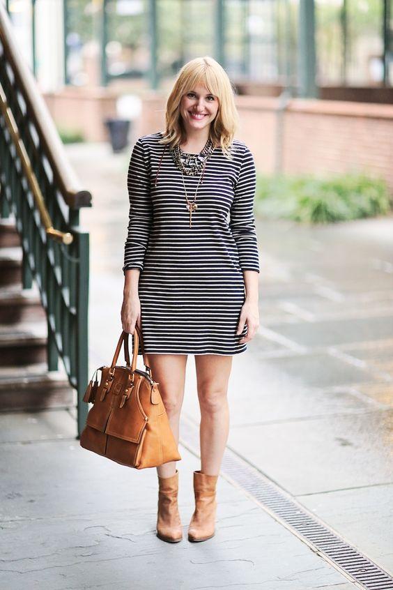 Soft Joie striped dress