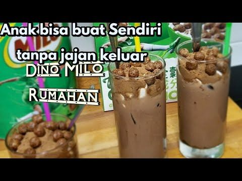 Membuat Dino Milo Hits Ala Mcdonald Favorite Anak Anak Youtube Food Recipes Mcdonald