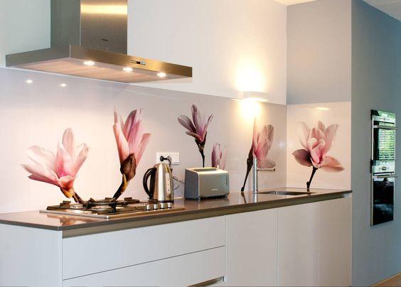 Bildergebnis für glasrückwand küche motiv Küche Pinterest - motive für küchenrückwand