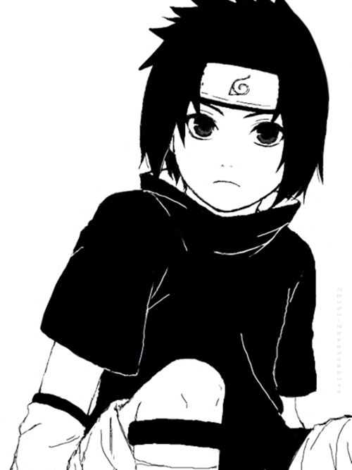 Sasuke Uchiha~~he was so cute as a little kid... :'(