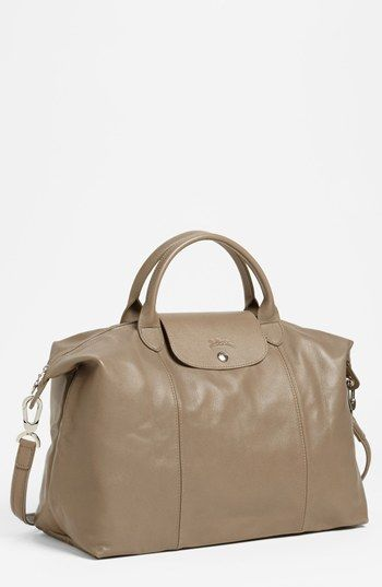 Limited Portable Longchamp Le Pliage Messenger Bags Chocolate