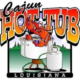Cajun hot tub