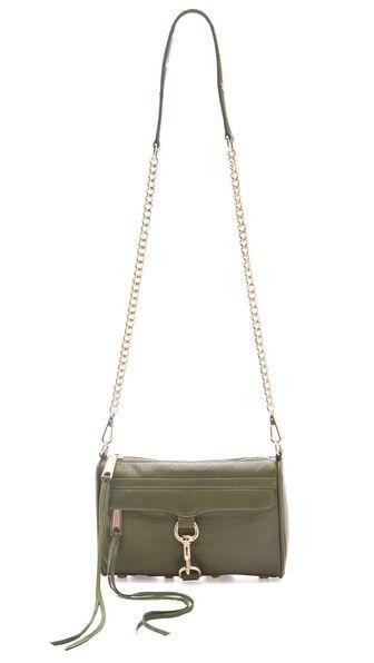 Rebecca Minkoff Mini MAC Bag in Sage