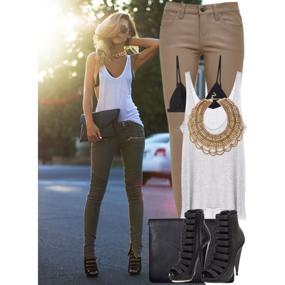 """How to: Dress in 3 minutes and Look HOT"" by vallle on Polyvore"