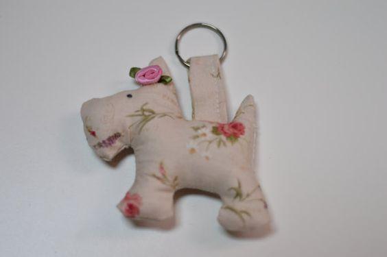 scottish terrier keychain di MoniqueCraftRoom su Etsy, $6.00