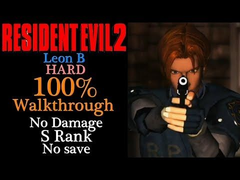 How To Get S Rank Resident Evil 2 Remake