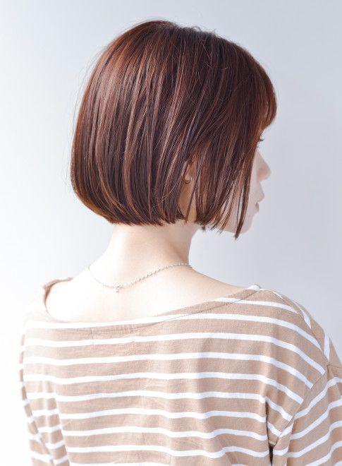ボブ つやred ストレートボブ Atelier Ittowaの髪型 ヘアスタイル