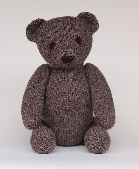 Knitting Pattern For All In One Teddy Bear : I want to make this for Devan. Ravelry: Owen pattern by Jane Watling Knitti...