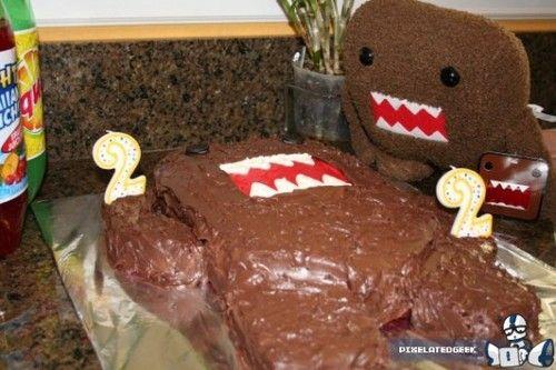 domo cake!