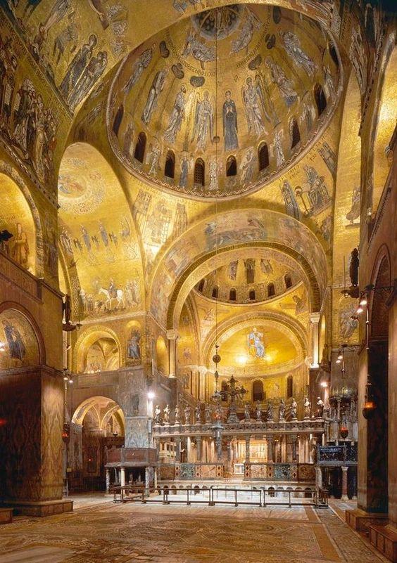 Golden St Marc - Venise
