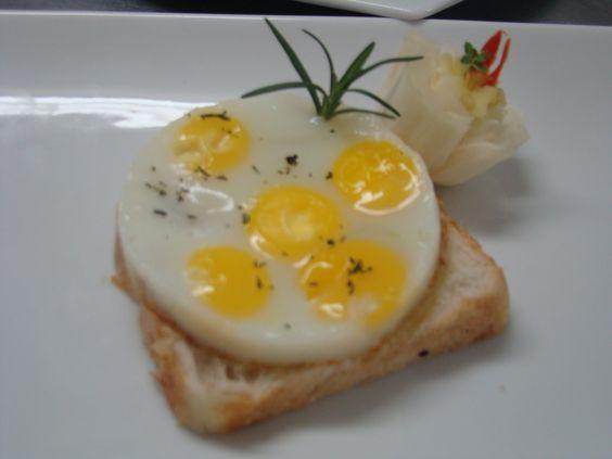 Aula de Ovos - Ovo frito