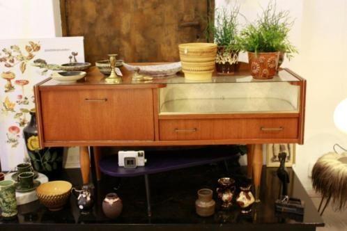 Wonderbaarlijk ≥ vintage dressoir kast jaren 60 retro design tv meubel - Kasten NL-09