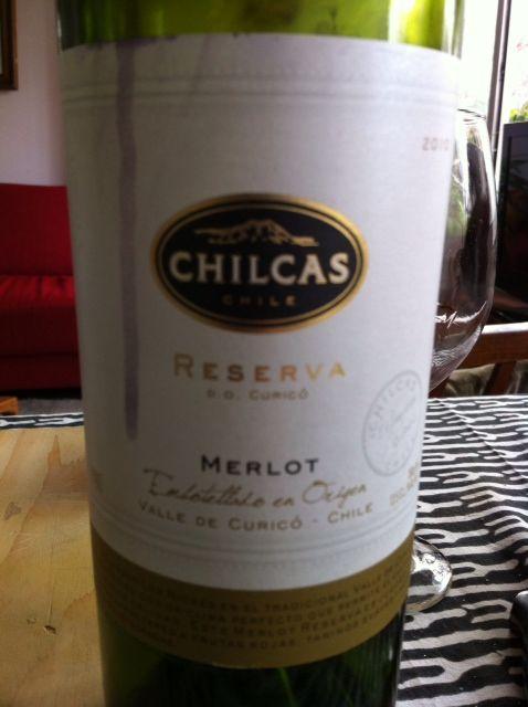 Vía Wines, Chilcas, Merlot Reserva , 2010 , Valle de Curicó