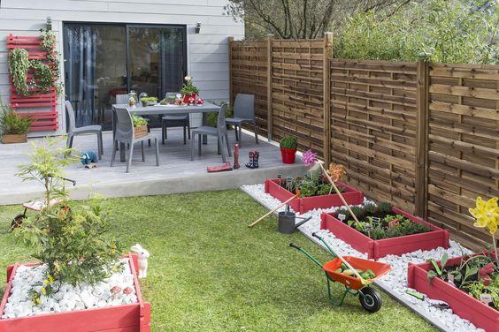 Les 14 meilleures images à propos de Jardin sur Pinterest - faire une terrasse pas cher