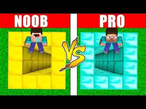 Minecraft Noob Vs Pro Diamond Or Gold In Real Life Minecraft Animation Realistic Minecraft Irl Noob Real Life Life