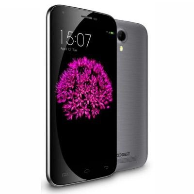 DOOGEE Valencia2 Y100 Plus smartphone use 5.5 inch 2.5D Corning Gorilla Glass 3 screen, MTK6735 64Bit Quad Core processor, has 2GB RAM, 16GB ROM, 8MP front + 13MP rear dual camera, installed Android 5.1 OS.