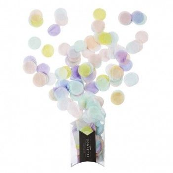 Pastel Rainbow Jumbo Confetti : The Party Cupboard Online Party Supplies Store…