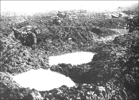 canadian 4th div at passchendaele