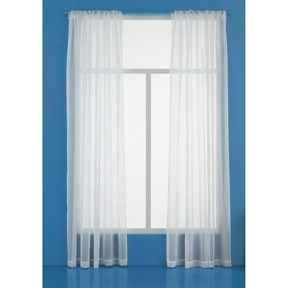 Sheer Curtain Panel - Room Essentials