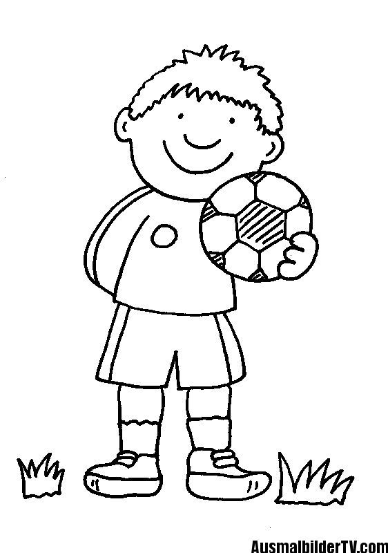 Coloring Page Free Soccer Player Coloring Player Soccer