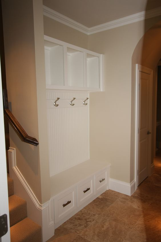 Mud Room Storage And Bench This Could Work Where The