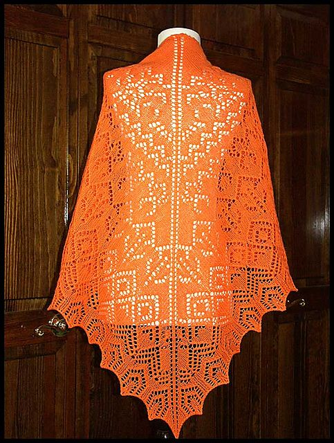 crocheted shawls knit lace knitting lace lace shawls 38 pattern yarn ...