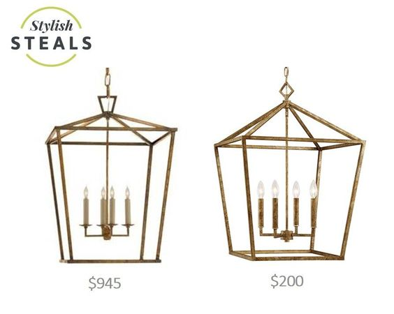 - Overview - Details - Why We Love It This open cage lantern is hands down one of the best Stylish Steals we've ever seen- like we seriously cannot contain our excitement (see image and price comparis