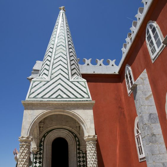 """Pena National Palace (Palacio Nacional da Pena) - Romanticist palace in Sao Pedro de Penaferrim. Sintra, Portugal."" by nelson garrido…"
