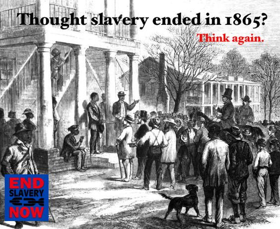 27 MILLION people are enslaved today; that's TWICE the amount of people ever forced to work from the Transatlantic Slave Trade.    Start a conversation today and let your friends know that slavery did NOT end in 1865. Spread the word and share with friends!    Thanks to the State Library and Archives of Florida for the original photo!