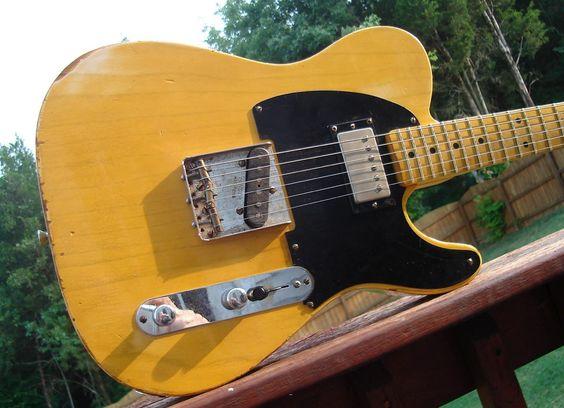 Danocaster Tele: Telecaster Obsession, Guitars Bass, Picks Axes, Fenders Forever, Bass Guitars, Guitar Stuff, Musical Instruments, Vintage Guitars