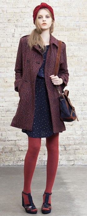 For fall and winter. Love keeping warm and still looking great!