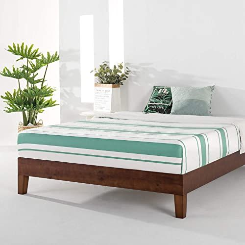 Chic Mellow Naturalista Grand 12 Inch Solid Wood Platform Bed With Wooden Slats No Box Spring Needed Easy Assembly Twin Espresso Furniture 298 97 Newtr In 2020