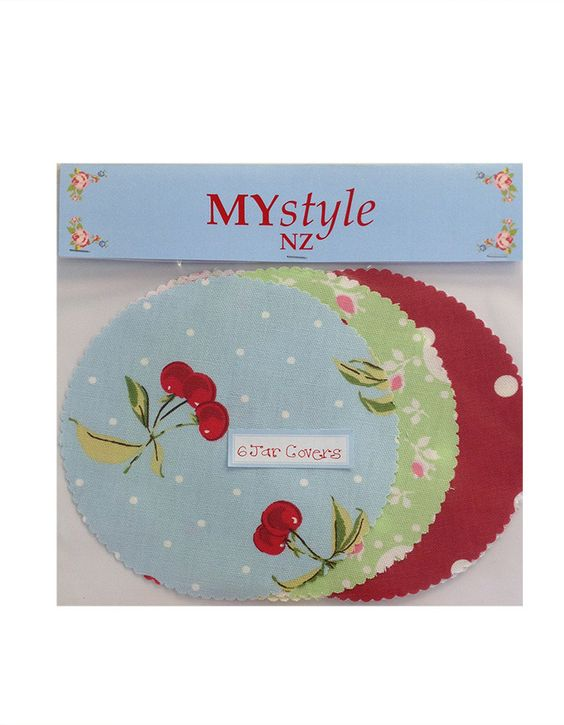 MYstyle Jar Covers Assorted 6