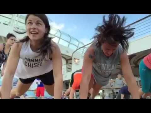 What is it like to workout with Sagi live on a cruise ship? Check it out!