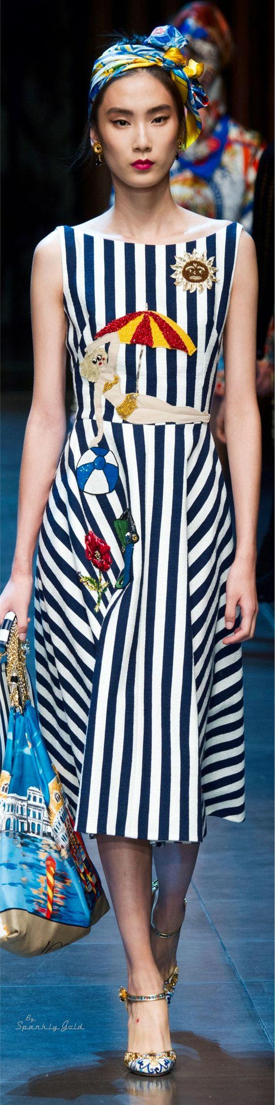Dolce & Gabbana Spring 2016: