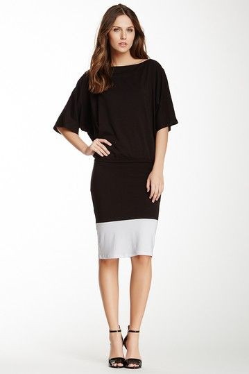 Dolman Bandage Dress by Go Couture on @HauteLook