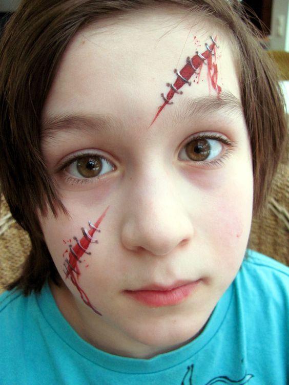 Narben Schminken Wie.D4bb35db2730a8833fdaae6b3faba8fd Jpg Zombie Schminken Kinder Kinder Schminken Schminken Halloween