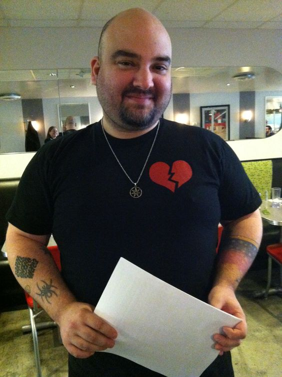 Our rockstar Server CHRIS, on his first day at Veggie Galaxy! www.veggiegalaxy.com