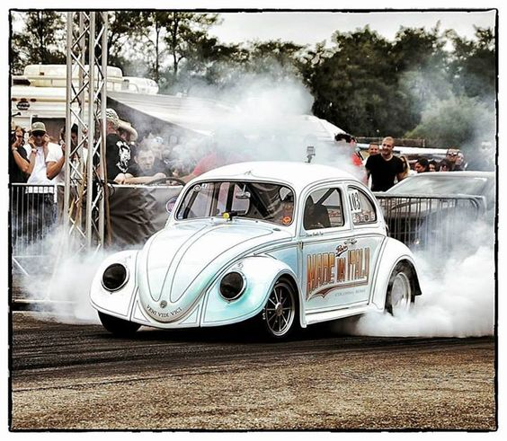 Vw Bug Drag Motor: Volkswagen Beetle/Bug/Käfer Drag Race Car