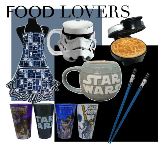 """star wars foodie"" by cheycheychic99 ❤ liked on Polyvore featuring interior, interiors, interior design, home, home decor, interior decorating, R2, Vandor, giftguide and foodlovers"