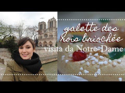 Receita da galette des rois briochée + Visita da Notre-Dame de Paris | E...