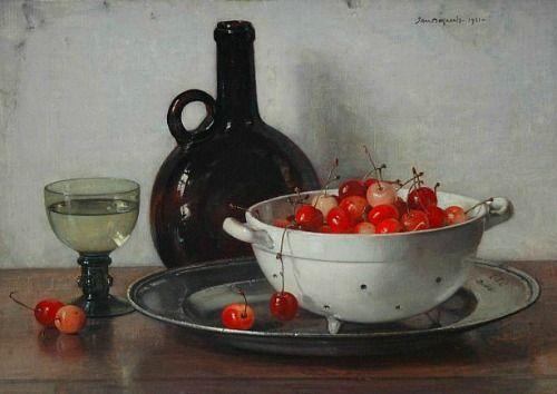 Jan Bogaerts  Still Life with Cherries  1931