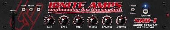 Musical Wars: SHB-1: Amplificador virtual para bajo de Ignite Amps (VST y AU Gratis)