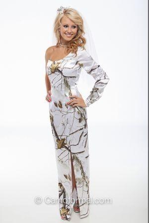 White camo dress ( front )