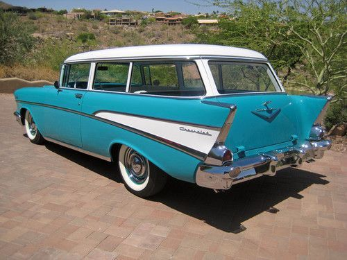 57 210 Handyman Wagon 1957 Chevrolet Chevy Bel Air Wagon Wagon