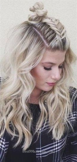 35 Easy Summer Hairstyles That You Simply Can T Miss For Summer 2019 Summer Hairstyles Summer Hairstyles 2019 Do Not Consist Of Complex Elements On The Contra Summer Hairstyles Box Braids Hairstyles