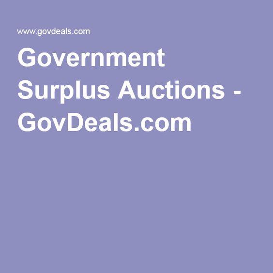 Government Surplus Auctions - GovDeals.com